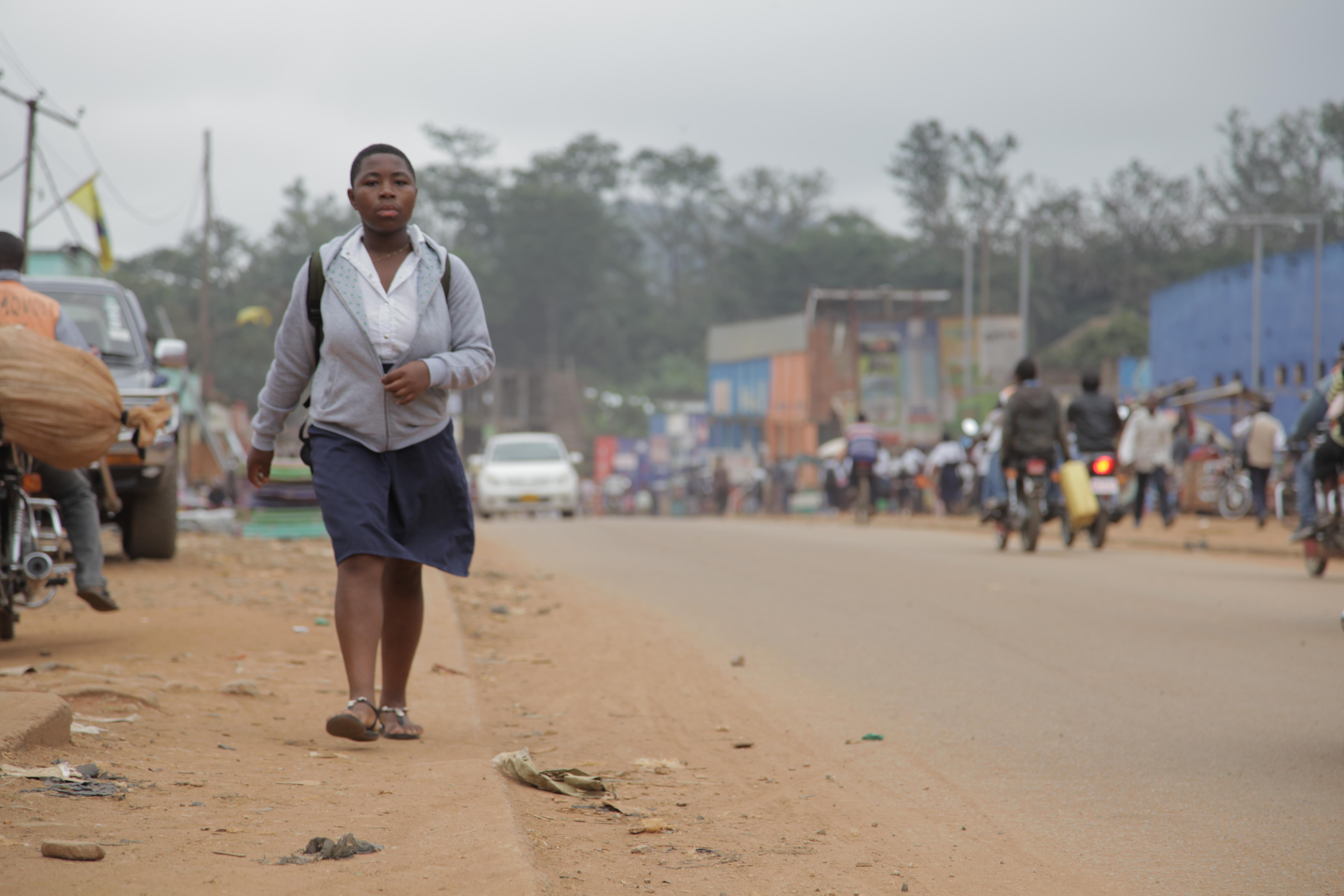 Early morning in Beni city, North Kivu [Zahra Moloo/Al Jazeera]